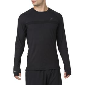 asics Thermopolis Plus LS Shirt Herren performance black/performance black